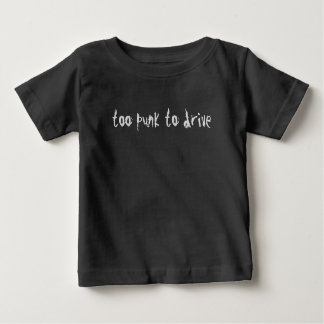 Punk Kid's Te Shirt Funny Driving Skills