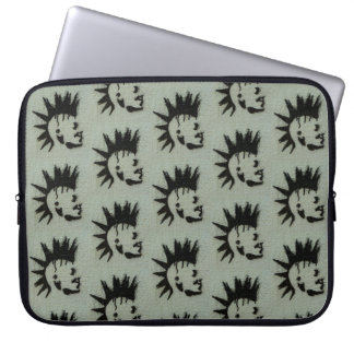 Punk laptop sleeve. laptop sleeve