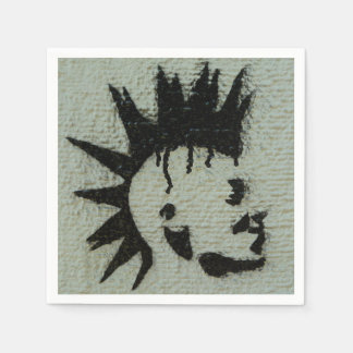 Punk napkins. disposable napkins