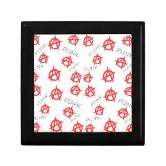 Punk pattern gift box