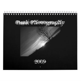 Punk Photography 2009 Wall Calendars