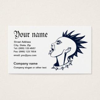 Punk piercing business card