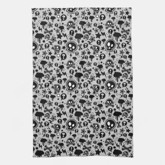 Punk Pop Pattern Hand Towel