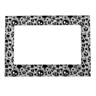 Punk Pop Pattern Magnetic Photo Frame