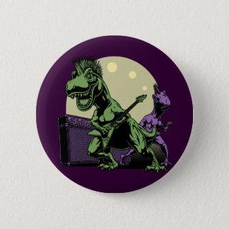 Punk Rex 2 Inch Round Button