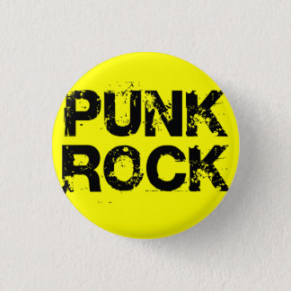 Punk Rock 1 Inch Round Button