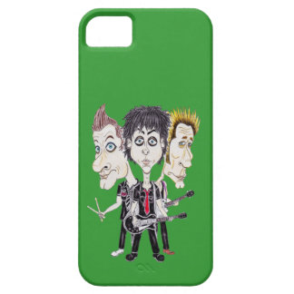 Punk Rock Band Funny Caricature Drawing Phone Case