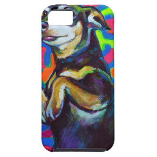 Punk Rock DACHSHUND iPhone 5 Cover