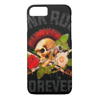 Punk rock forever iPhone 8/7 case