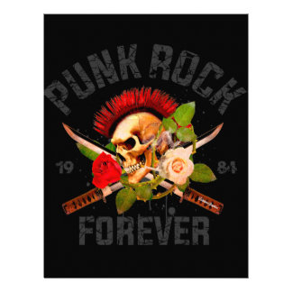 Punk rock forever letterhead
