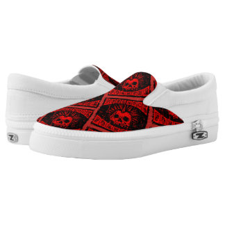 punk rock forever Slip-On sneakers