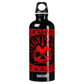 punk rock forever water bottle