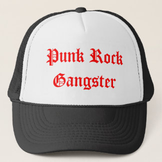 Punk  Rock Gangster Trucker Hat