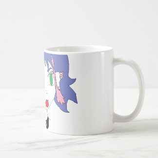 punk rock girl coffee mug