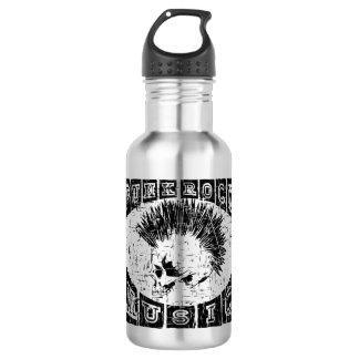 punk rock music 532 ml water bottle