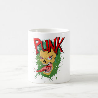 Punk Rock Skull Coffee Mug