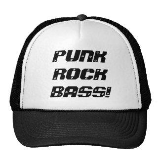 PUNK ROCKBASS HATS