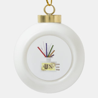 Punk Room Diffuser Bauble Ceramic Ball Christmas Ornament