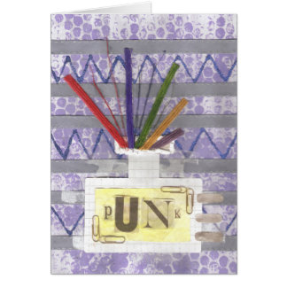 Punk Room Diffuser Greeting Card