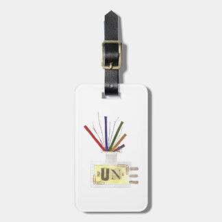 Punk Room Diffuser Luggage Tag