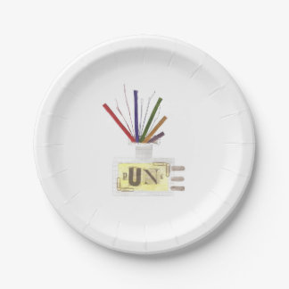 Punk Room Diffuser Paper Plate 7 Inch Paper Plate