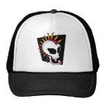 PUNK SKULL-2 MESH HATS