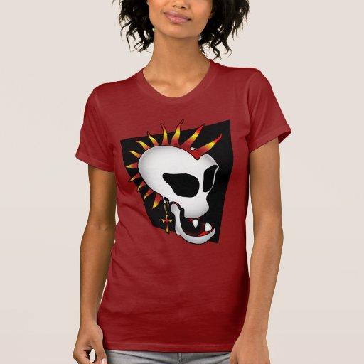 PUNK SKULL-2 T-Shirt