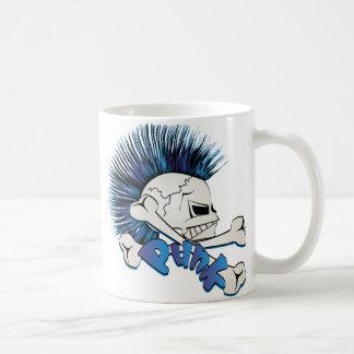 Punk Skull Coffee Mug