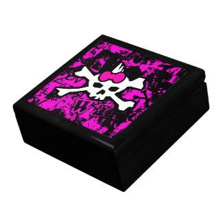 Punk Skull Jewelry Box