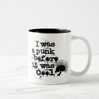 punk Two-Tone coffee mug