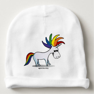 Punk Unicorn - punk unicorn Baby Beanie