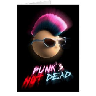 Punk's Not Dead Card