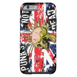 Punks Not Dead Tough iPhone 6 Case