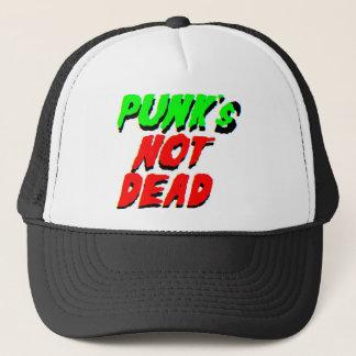 Punk's Not Dead Trucker Hat