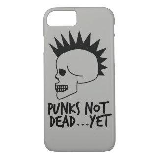Punks Not Dead...Yet Skull White Case-Mate iPhone Case