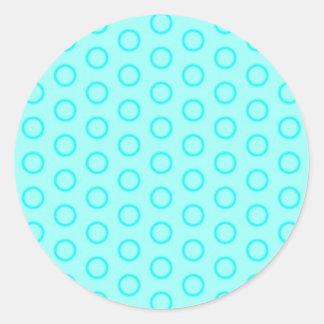 pünktchen dotted samples peas circle retro to DO Round Sticker
