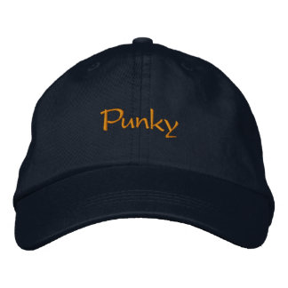Punky Embroidered Baseball Cap