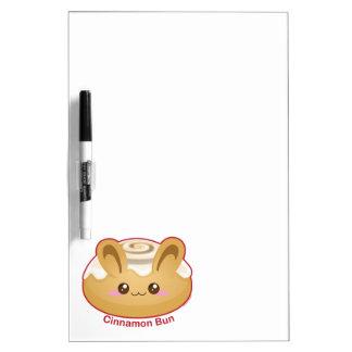 Punny Buns: Cute Cinnamon Bunny Dry Erase Whiteboard