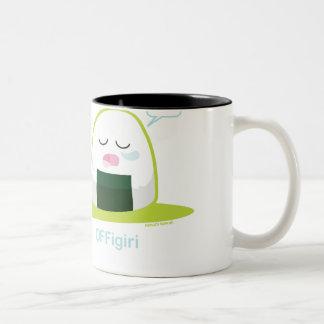 Punny Nigiri Two-Tone Mug