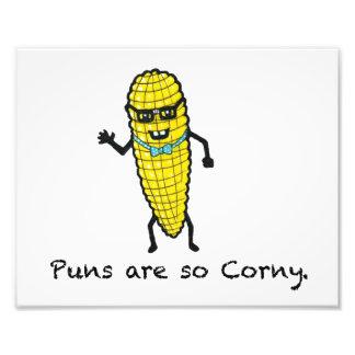 Puns are so Corny Art Photo