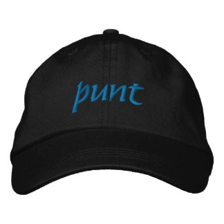 Punt Embroidered Hat