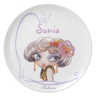 PUNT/PLATE for girl Plates