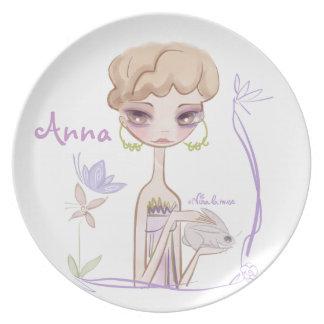 PUNT/PLATE for girl Dinner Plates