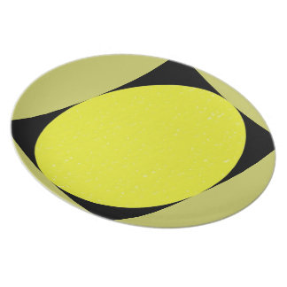 """Punt/Plate """"Geometry """" Party Plate"""