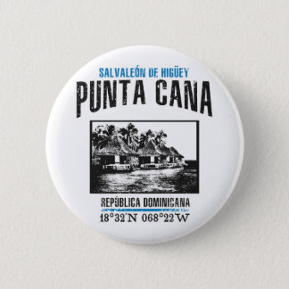 Punta Cana 2 Inch Round Button