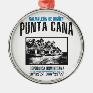 Punta Cana Metal Ornament