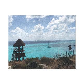 Punta Sur, Isla Mujeres, Mexico Canvas