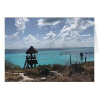 Punta Sur, Isla Mujeres, Mexico Card