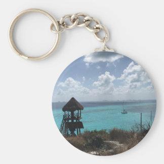 Punta Sur, Isla Mujeres, Mexico Keychain