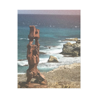 Punta Sur Sculpture, Mexico Canvas